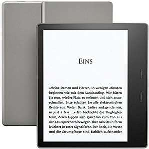 Kindle Oasis, Zertifiziert und generalüberholt, wasserfest,  7 Zoll-Display (300 ppi), integriertes Audible, 32 GB, WLAN