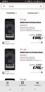 Red Friday**Google Pixel 3 und Pixel 3 XL