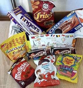 [30%] Rabatt und kostenloser Versand: Snackbox von Vernasche die Welt