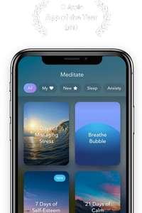 Calm - App für Meditation Jahresabo, Headspace Alternative
