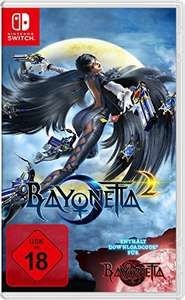 Nintendo Switch Bayonetta 2 (inkl. Bayonetta 1 als Download) für 34,99€ amazon.de (inkl. FSK 18)