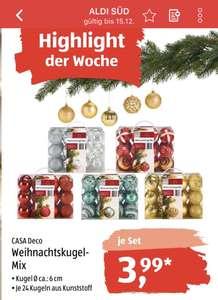 Weihnachtskugel-Set (ALDI Süd)