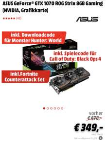 ASUS GeForce® GTX 1070 ROG Strix 8GB Gaming (NVIDIA, Grafikkarte)