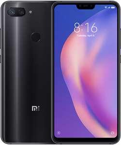 Xiaomi Mi 8 Lite 6,26 Zoll Smartphone 4/64GB black blue GLOBAL Version für 199,90€ inkl. Versandkosten