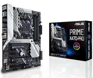 Asus Prime X470-PRO Gaming Mainboard AM4 (ATX, X470-Chipsatz, Aura-Sync, DDR4 3466MHz, dual M.2, USB 3.1 Gen 2)