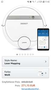 Ecovacs Deebot 900 bei Amazon.es zu einem guten Preis.