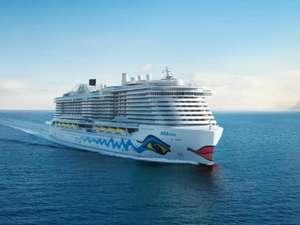 Kreuzfahrt mit der AIDANova 10 Tage ab Teneriffa nach Barcelona für 2 Personen
