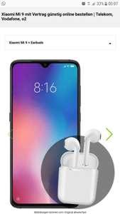 Xiaomi 9 64GB + Bluetooth Kopfhörer mit Vertrag 714,74