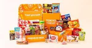 Tokyotreat - Japanische Süßigkeiten-Abo-Box (Premium Variante)