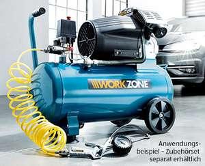 [Aldi Süd] Workzone Kompressor 50l - 10bar - 419l/min