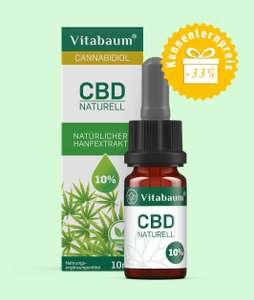 [Vitabaum] 10ml CBD Öl 10% Vollspektrum