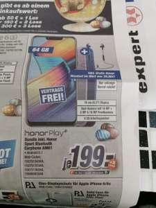 "Honor Play Smartphone 6.3"" - Full HD+ IPS, Kirin 970, 4GB, 64GB + AM61 (Expert)"