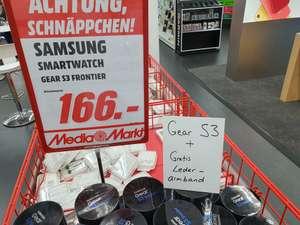 [MediaMarkt Lokal LB] Samsung Galaxy Gear S3 Frontier + Original Lederarmband