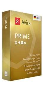 Avira Prime 3 Monate testen, keine Daten außer E-Mail Adresse