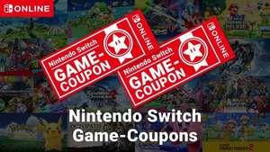 Nintendo Switch-Game-Coupons - 2 Nintendo Switch Spiele für 99€ [Nintendo Switch Online Mitglieder]