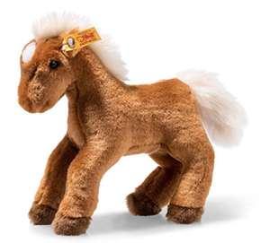 Amazon: Steiff 674723 Pferd, rotbraun, 32cm