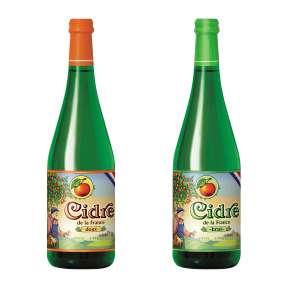 Französischer Apfelcidre - Cidre Brut & Doux / Aldi Nord (Pastis 7,99)
