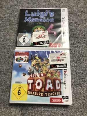 Günstige 3DS Spiele zb. Captain Toad - Treasure Tracker 3DS 9€ TRAUM (SATURN - Oldenburg) LOKAL