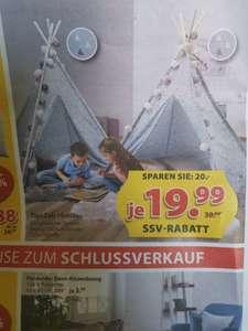 Kinderzelt Tipi Smilla   beim Dänischen Bettenlager