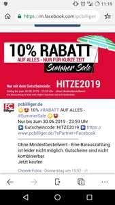 """PC-Billiger """"Summer-Sale"""" 10% auf alles, ohne Mindestbestellmenge!"""