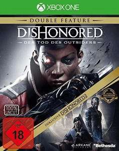 Dishonored: Der Tod des Outsiders Double Feature inkl. Dishonored 2 (Xbox One & PC) für je 14,99€ (GameStop)