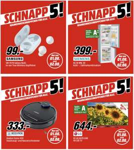 Schnapp 5: ECOVACS Deebot Ozmo 930 Saugroboter für 333€, Galaxy Buds für 99€, LG 65UK6470PLC 164cm 4K UHD TV für 644€ usw.