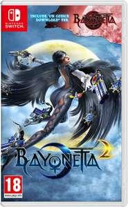 Bayonetta 2 + Bayonetta 1 (Nintendo Switch) für 32,34€ inkl. Versand (Amazon IT)