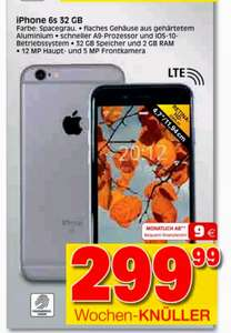 [Lokal - Ratio Baunatal] - iPhone 6s 32GB für 299€