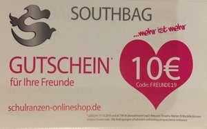 Schulranzen-onlineshop.de 10 € Gutschein bei MBW 79 €