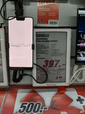 [LOKAL Chemnitz] Google Pixel 3 XL Mediamarkt 397€