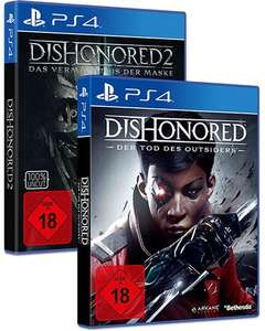 Dishonored 2 & Der Tod des Outsiders (PS4) für 8,98€ (Gamesflat)