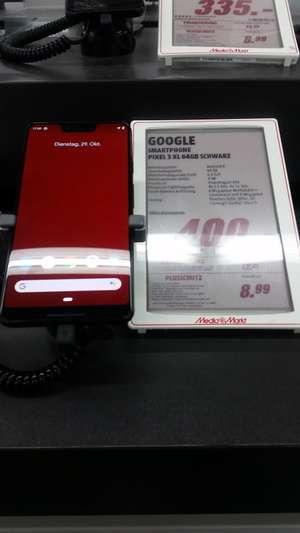 [Lokal MM Marburg] Google Pixel 3 XL für 400€ (schwarz, 64GB)