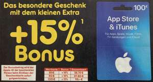Netto-MD: 15% Bonus-Guthaben für App Store & iTunes - 25€, 50€ u. 100€ - ab 11.11. - 16.11.