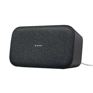 Saturn: Google Home Max, Smart Speaker, Schwarz 181,09€ bei Abholung, 186,08€ mit Versand