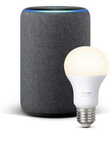 Amazon Echo Plus 2. Generation mit Philips Hue White Lampe-Echo in allen Farben