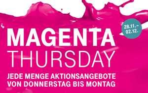 """[28.11. - 02.12.] """"MAGENTA THURSDAY"""" bei der Telekom // z.B. Galaxy S10e für 399€ und iPhone 7 für 299€"""