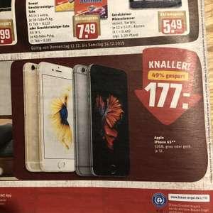 Rewe (Center) Apple iPhone 6S 32GB 177€ KW50
