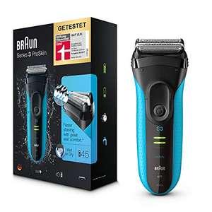 Braun Series 3 ProSkin 3040s Elektrorasierer, mit Präzisionstrimmer, wiederaufladbarer und kabelloser Wet&Dry Rasierer Herren