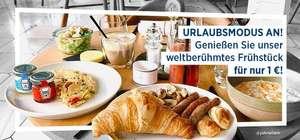 [NH Hotels] Hotel-Frühstück für 1€ mehr pro Nacht