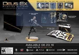 Deus Ex: Mankind Divided Collector's Edition (XBox One) für 28,57€ inkl. Versand nach Deutschland