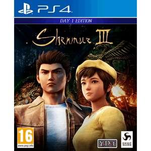 Shenmue III Day One Edition (PS4) für 37,94€ (Shop4DE)