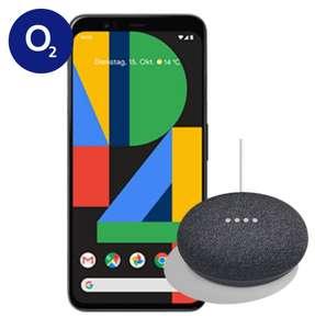 [mit O2 DSL Kombivorteil 764,70€] Google Pixel 4 XL Schwarz und Home Mini im O2 Free L (30GB LTE) mtl. 39,99€ einm. 4,95€