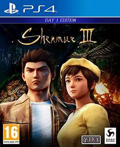 Shenmue III Day One Edition (PS4) für 33,31€ (Amazon IT)