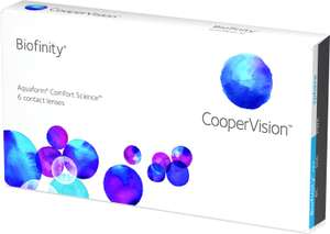 Kontaktlinsen Biofinity 6 Stück Bestpreis? @lenstore