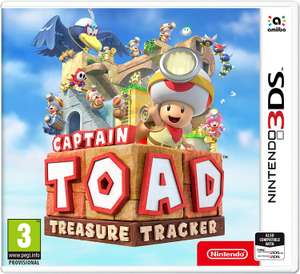 Captain Toad: Treasure Tracker (3DS) für 19,18€ (Amazon UK)