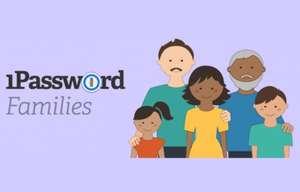 1Password Family Password Manager 12 Monate kostenlos