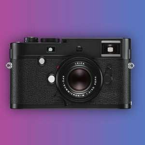Leica M Monochrom (Typ 246): Spiegellose Systemkamera, Gehäuse