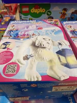 (REAL Mutterstadt) Playmobil Magic Schneetroll mit Schlitten 9473