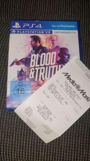 (Lokal) Mediamarkt Münster PS 4 VR Blood & Truth (Lokal Münster)