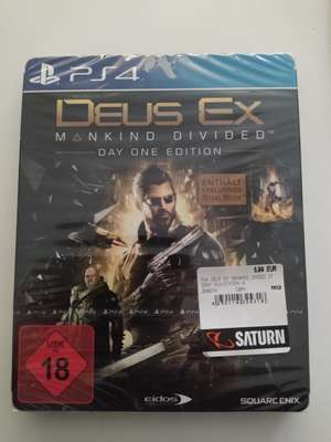 """Deus Ex: Mankind Divided - Day one Edition inkl. Steelbook """"PS4"""" Saturn (Lokal)"""